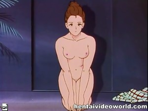 Erotic scene in classic hentai movie - hentaivideoworld.com