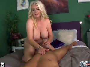 Angelique rubs us the right way