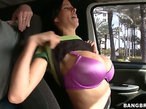 Sex loving Ana Diego takes over the wheel of the bang bus determined to cruise the