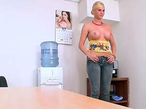 Lusty and hot blonde milf Brittanie