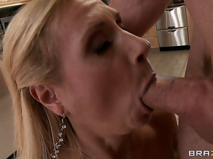Brooke Tyler is one of those horny milfs who realize what theyve been mission out all these