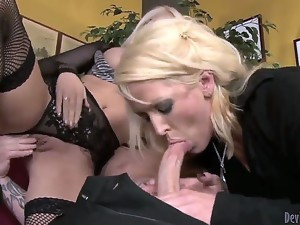 Alura Jenson has a special method of upbringing her hot daughter Jacky Joy, and it includes