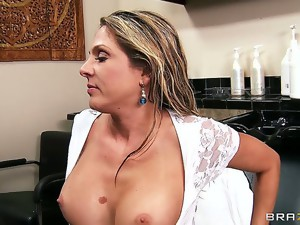 Angela is a well known barber, and James needed some service lately. Well,