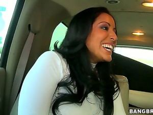Kiara Marie is one hot milf that knows how to drive a guy crazy! After hitching a ride,