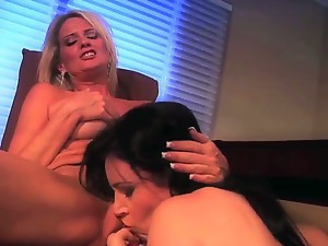 Two mature lesbians Anastasia and Bridgett