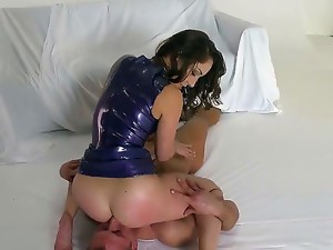 Handsome hugecocked stud Bill Bailey is having nice banging with babe that got big cool ass