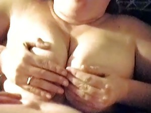 Couple;Masturbation;Big Tits;Titfuck;Amateur