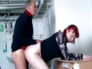 Couple;Vaginal Sex;Masturbation;Oral Sex;Mature;Redhead;Caucasian;Vaginal Masturbation;Blowjob;Shaved;Piercings;German
