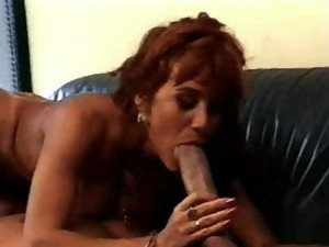 Couple;Oral Sex;Mature;Redhead;Caucasian;Blowjob;Licking Vagina;Position 69;Glamour;Cum Shot;Vintage