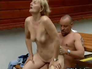 bizarre,blonde,blowjob,experienced,fucking,hardcore,housewife,mature,outdoor,older