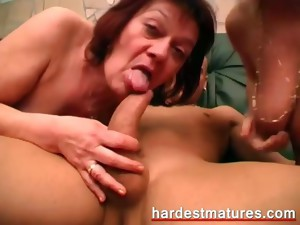 bisexual,granny,group sex,hardcore,mature,threesome