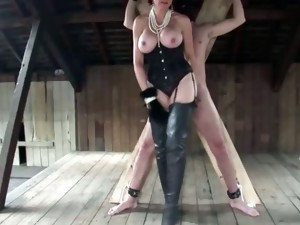 big tits,european,fetish,handjob,mature,nylon,stockings,busty