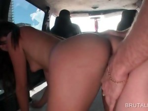 amateur,brunette,bus,hardcore,outdoor,reality,slut