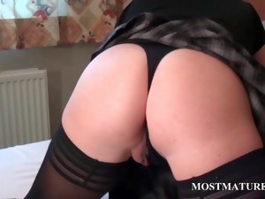 granny,hardcore,mature,milf,mom,nylon,older,masturbation