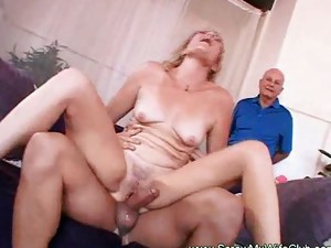 Couple;Vaginal Sex;Oral Sex;Mature;Blonde;Caucasian;Blowjob;Licking Vagina;Cum Shot;Facial