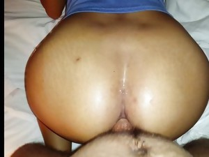 Couple;Anal Sex;Domination;Ebony;Cream Pie;Big Ass