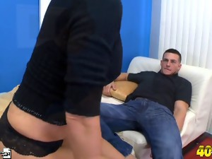 Angie's husband wants you to watch her fuck.