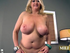 The Big-Titted Blond And The Big-Cocked Stud