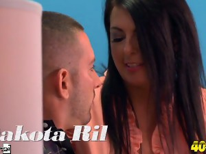 Dakota gets a mouthful