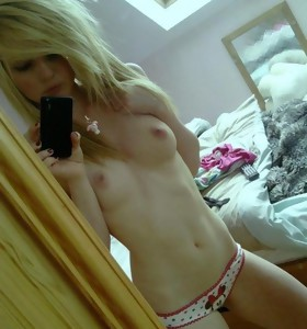 Hot picture collection of sexy amateur girlfriends posing topless